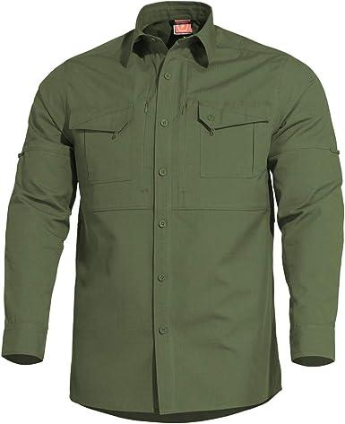PENTAGON Plato Táctica Camisa Camo Green: Amazon.es: Ropa y accesorios