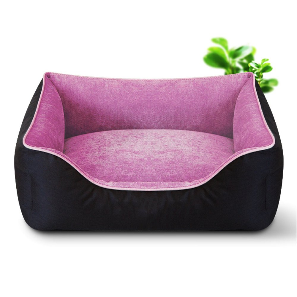 F 3545cm F 3545cm LDFN Warm Kennel Full-removable Washable Pet Litter Large Dog Kennel Dog Bed Seasons Cushion,F-3545cm