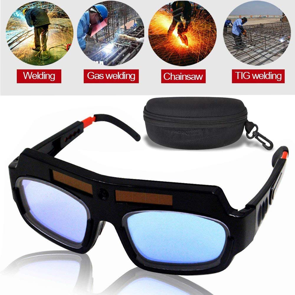 LETBUY Welding Glasses Mask Helmet Eyes Goggles, Solar Auto Darkening Welding Goggle Safety Protective Eyes Goggle, Professional PC Lens Welder Soldering Mask Anti-Flog Anti-Glare Goggles by LETBUY-Tech (Image #7)