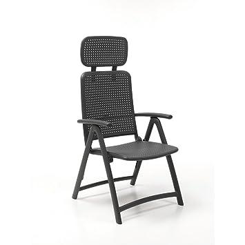 NARDI chaise aquamarine - Mobilier jardin plastique: Amazon.fr: Jardin