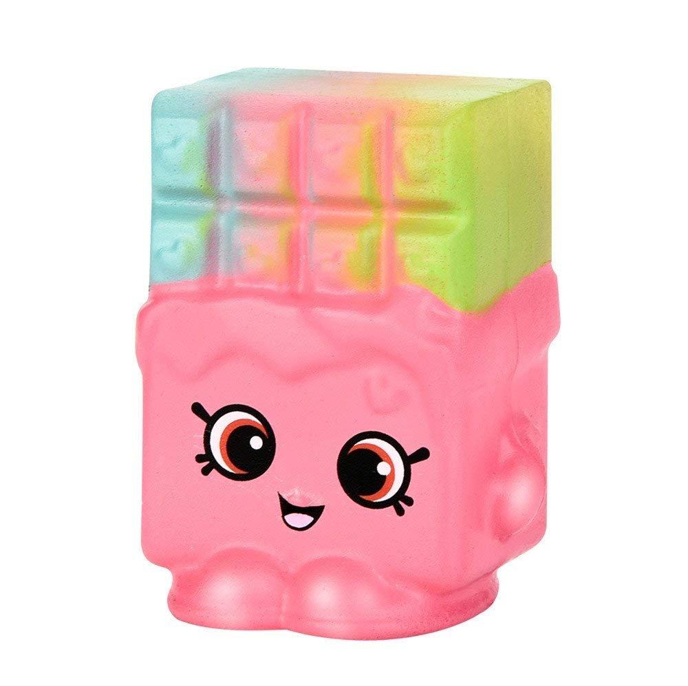 Estes.el Pink section, wafer cake, slow rebound, PU bread, toys