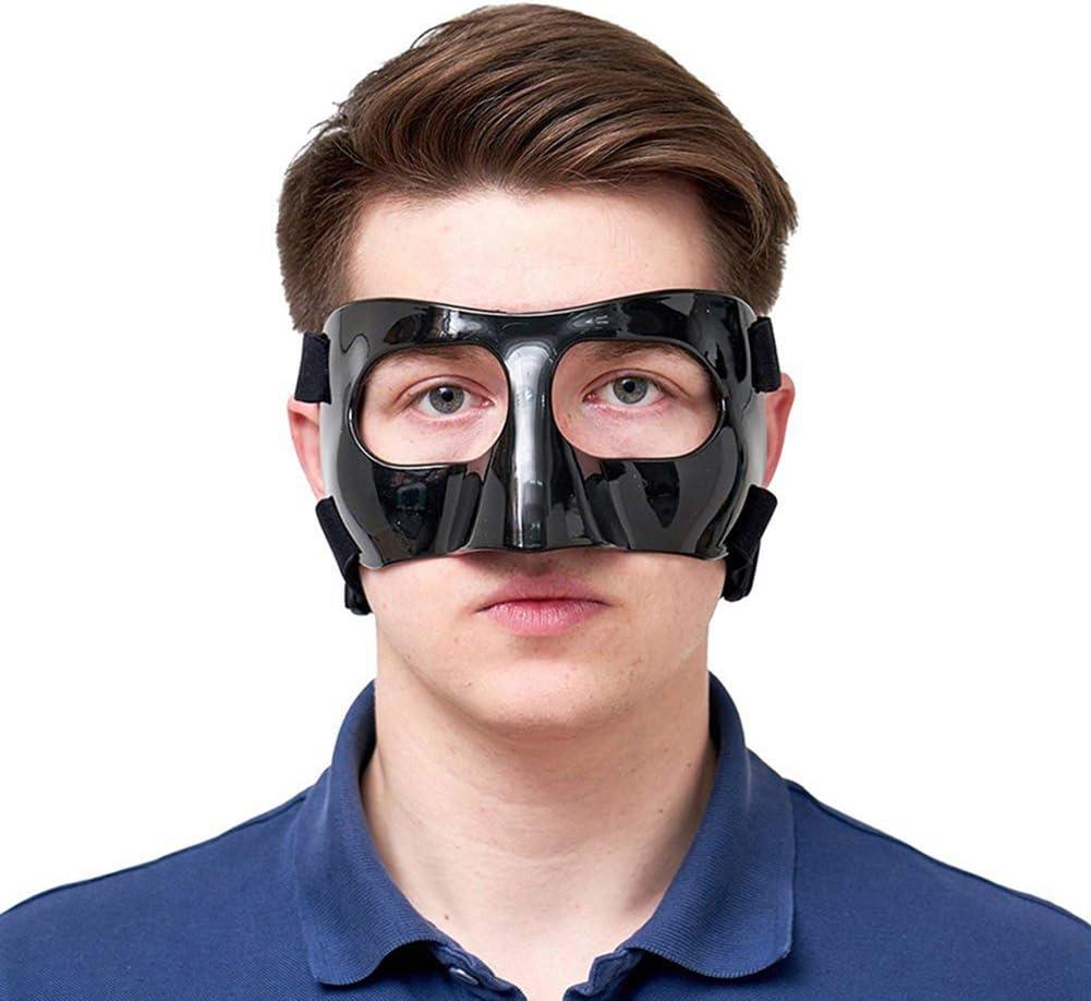 GYKFY Guardia Nariz, la Cara de Protección Escudo de Impacto Lesiones en la Nariz y la Cara, uno Cabe Tamaño mayoría de Baloncesto, fútbol, ??Rugby, Todos los Deportes
