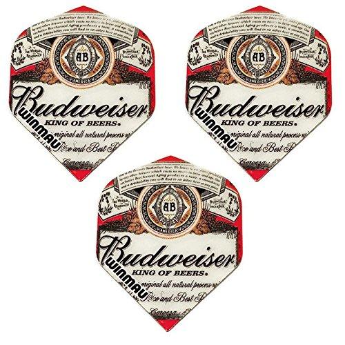 Winmau Mega 3 Pack Budweiser King Of Beers 75 Micron Strong