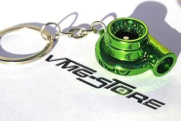 Turbo llavero verde cromo - de VMG de Store: Amazon.es ...
