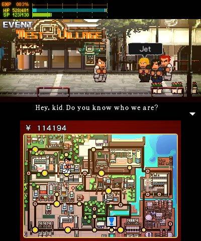 River-City-Rival-Showdown-Limited-Riki-Keychain-Edition-Nintendo-3DS