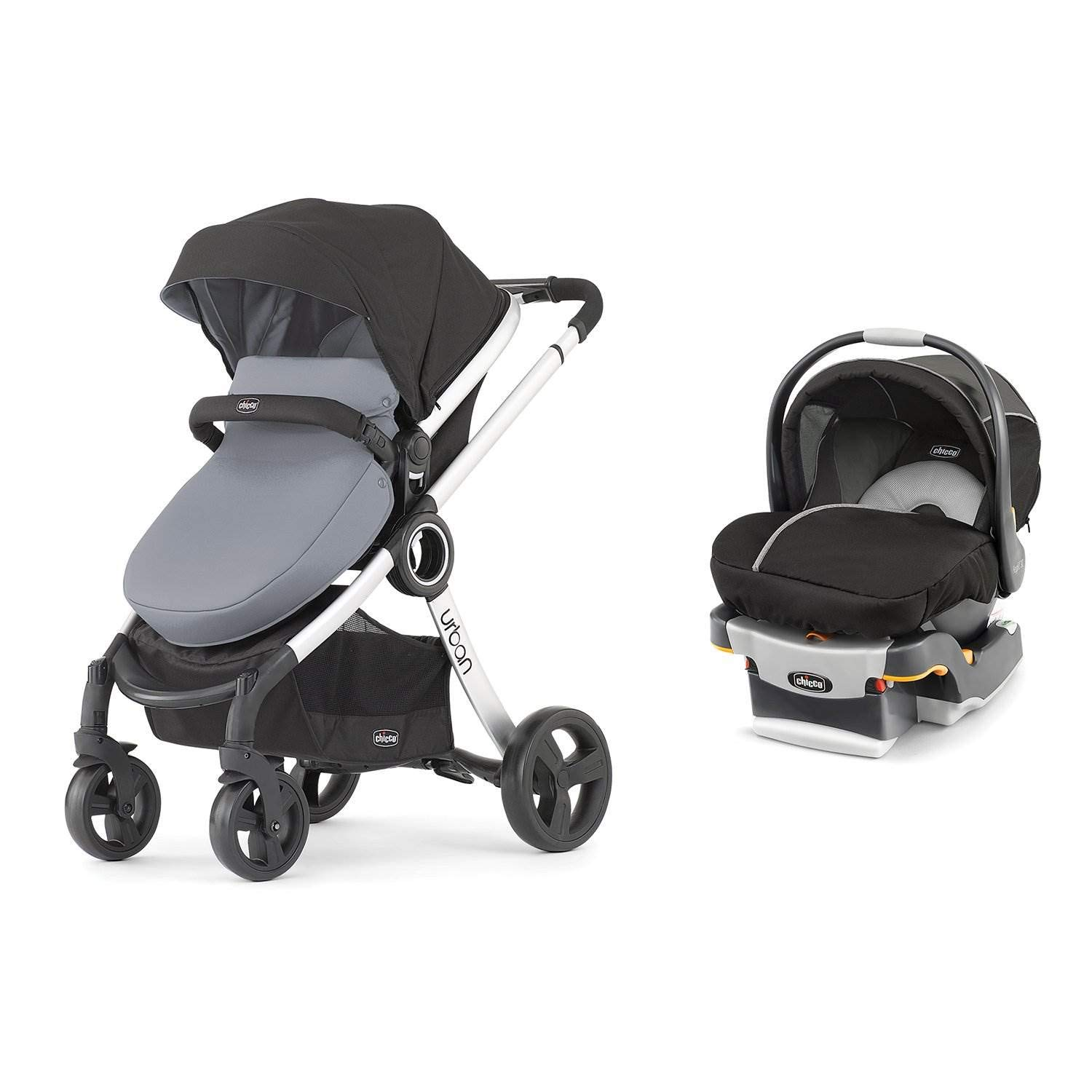 Chicco 6-in-1 Urban Modular Stroller + Infant Car Seat and ...