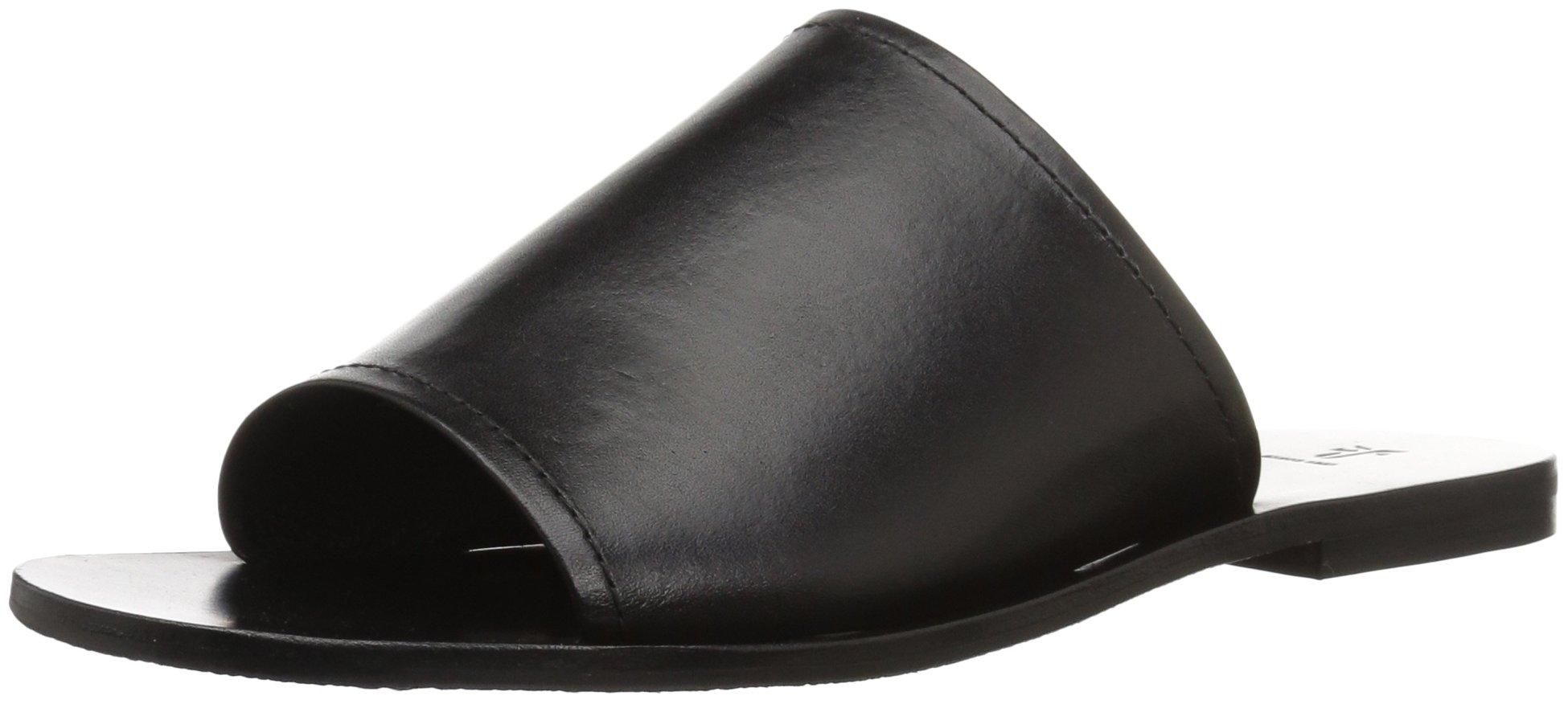 FRYE Women's Riley Slide Sneaker, Black, 7.5 M US