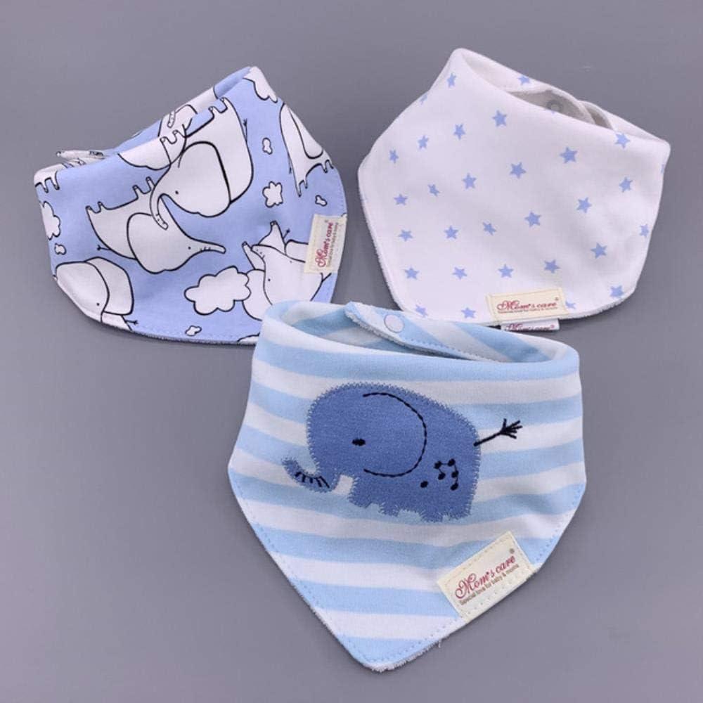 DAN 3 pc/Lot 100% algodón bebé niños y niñas Baberos Toalla bebé pañuelos Bufanda niños Corbata Toalla Infantil, 44: Amazon.es: Hogar