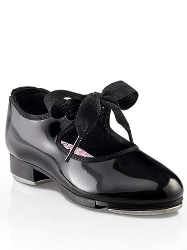 925b607cb29686 Capezio Kids Girl's Jr. Tyette N625C (Toddler/Little Kid) Black Patent  Sneaker