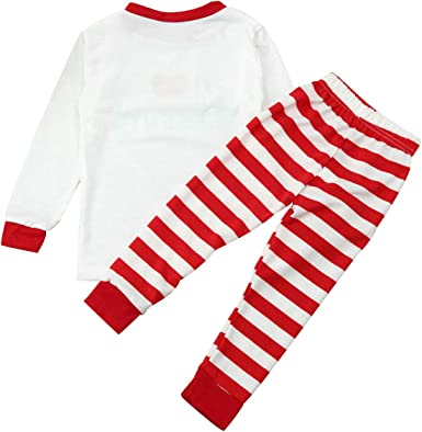 Pijamas Familiares Navideñas Pijama Rayas Navidad Familia Conjuntos Navideños Mujer Niños Niña Hombre Adultos Trajes Para Navidad Pijama Manga Larga ...