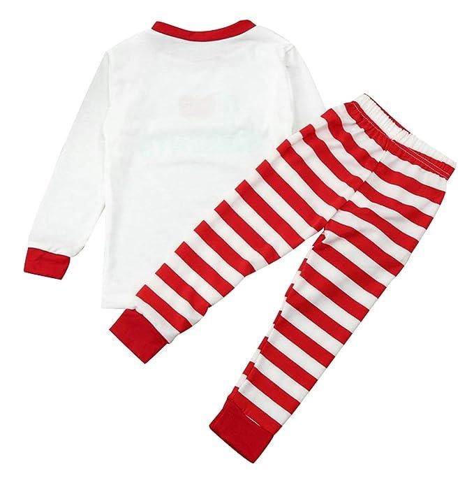 Pijamas Familiares Navideñas Pijama Rayas Navidad Familia ...
