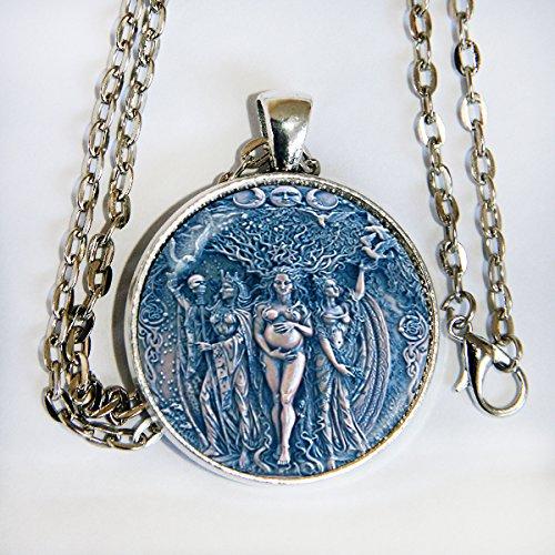 Triple Goddess - necklace