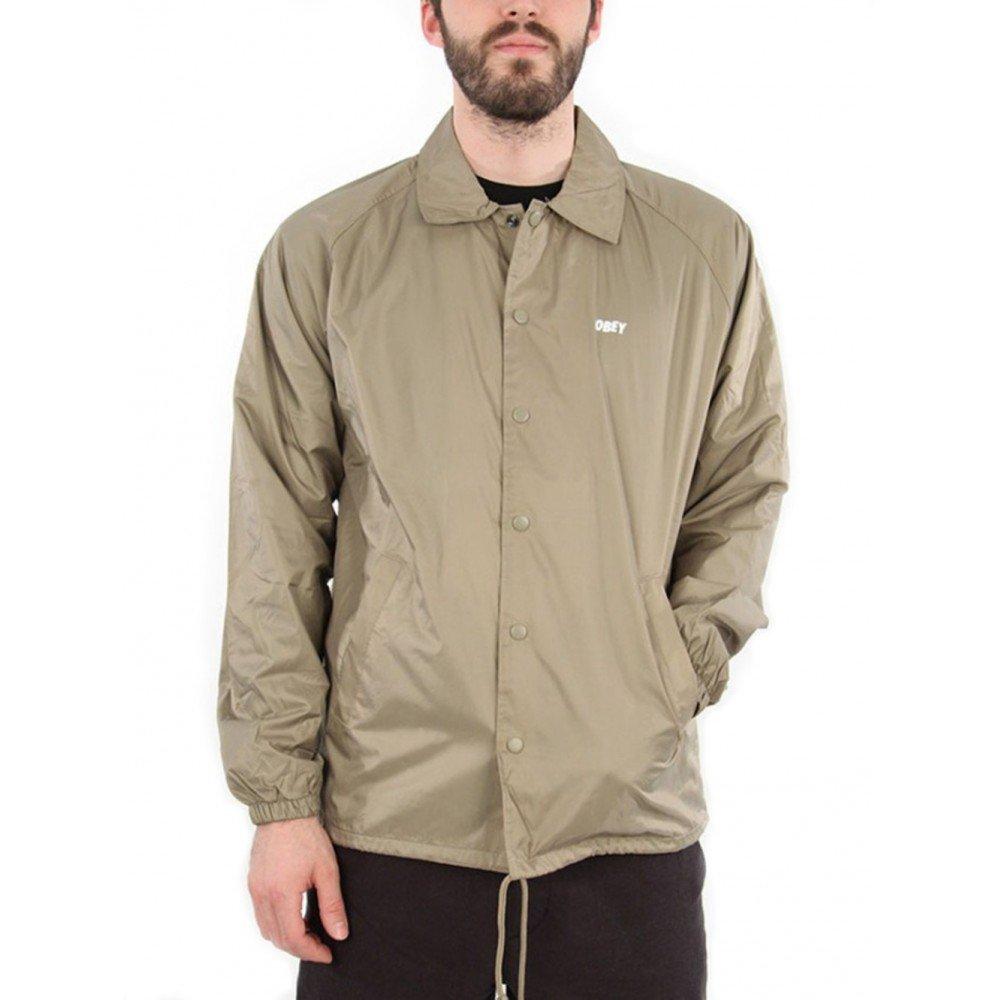 Obey Chaqueta FI Jacket Khaki - S: Amazon.es: Ropa y accesorios