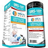 HealthSnap Multi-Parameter Test Strips - Quick Easy Testing for Ketone, pH, Glucose and More - Perfect for those on a Low Carb, Paleo, or Ketogenic Diet - 100 strips, 10 Parameters per strip