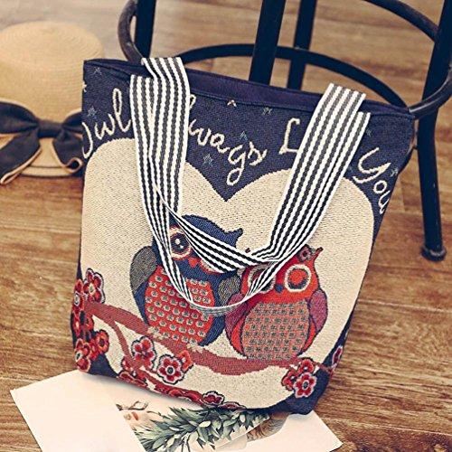 Donna Viaggio Borsa Tela Marina 2018 Nera Estate Borsetta Nera Borsa Grande Donna G Vintage Borsa Tracolla Borsetta Tote Borsa Donna Borsa Homebaby® Elegante Tracolla qR1pXnx