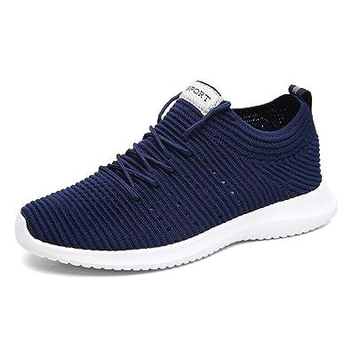 TORISKY Sportschuhe Laufschuhe Herren Turnschuhe Sneakers Bequem Gym  Fitness Leichte Schuhe(909-Blue39) e17c00ed0d