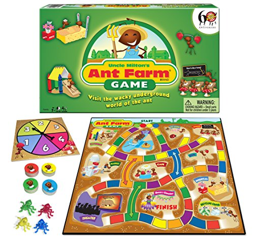 Winning Moves Games Uncle Milton's Ant Farm Game Board Game