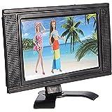 dd09e22f302c18 Exing Nouveaux Jouets de poupée TV LCD Poupée Mini télé Meubles de Maison  de poupée Barbie