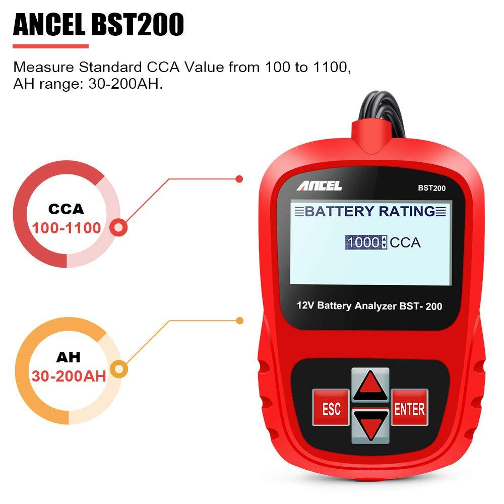 Accessories & Supplies ANCEL BST200 Battery Tester 12V