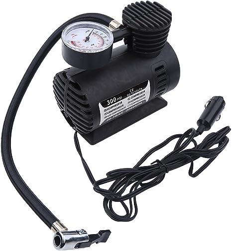 Mini compresseur dair portatif Pompe Infaltor de pneu /électrique 12 Volt Car 300 PSI Pompe /électrique