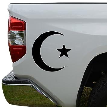 Amazon Islam Muslim Symbol Die Cut Vinyl Decal Sticker For Car