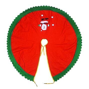 Navidad grande árbol de Navidad falda Navidad decoraciones Santa ...