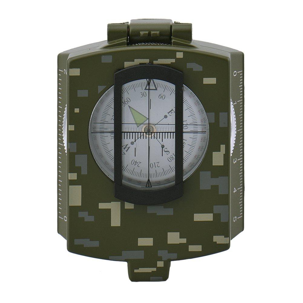 多機能コンパスキャンプ用 B01N49OI6H  Lensatic Compasses Camouflage