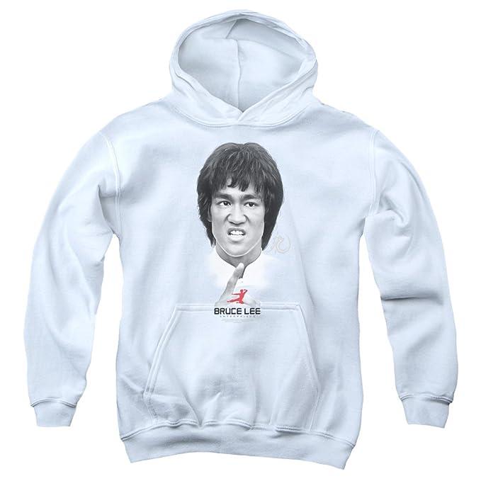 Bruce Lee - Auto Ayuda para jóvenes Sudadera con capucha, Medium, White: Amazon.es: Ropa y accesorios