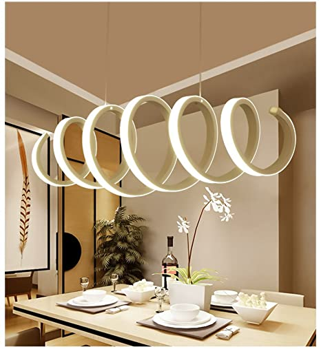 Modern Pendant Light® Modern LED Pendant Light Acrylic Spiral Pendant Lamp  Chandelier LED Island Pendant