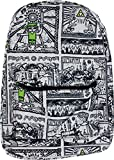 Bioworld The Legend of Zelda Game Drawings Sublimated Backpack