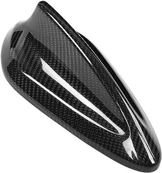 Antena de aleta de tiburón - 1 PC de antena de fibra de carbono para automóvil Cubierta de aleta de tiburón para BMW F20 F21 F48 F49 F45 F46.