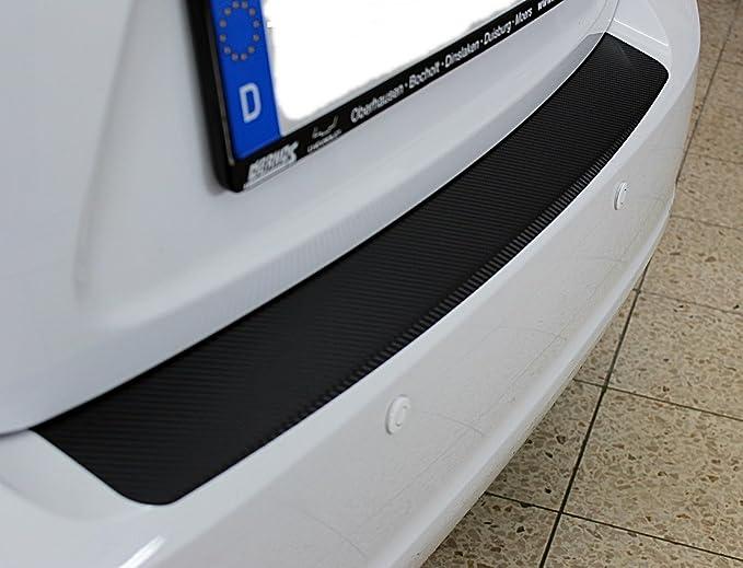 Carbonfolie LADEKANTENSCHUTZ Lackschutzfolie für SEAT ALHAMBRA 1