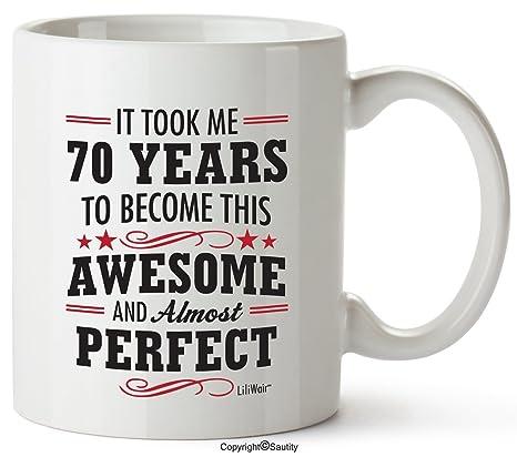 Amazon.com: 70th regalos de cumpleaños para las mujeres de ...
