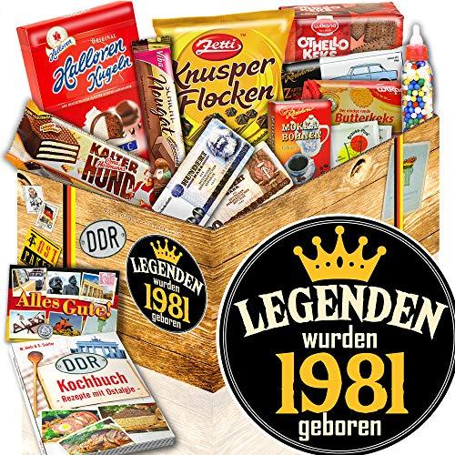 Legenden 1981 – Suessigkeiten Box DDR – Legenden 1981