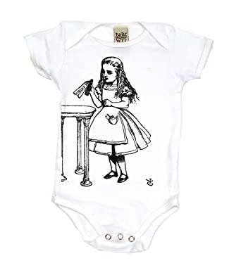 Amazon Com Drink Me Alice In Wonderland Baby Clothes Boy Girl