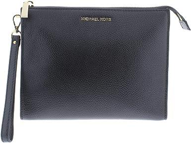 MK black clutch bag
