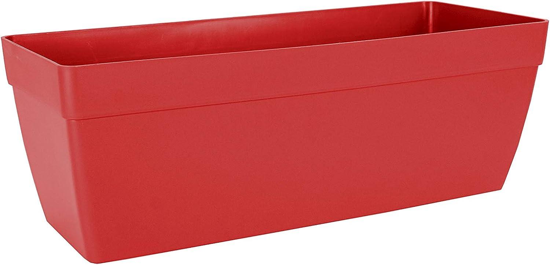 Artevasi Jardinera, Rojo, 50 cm, Capri