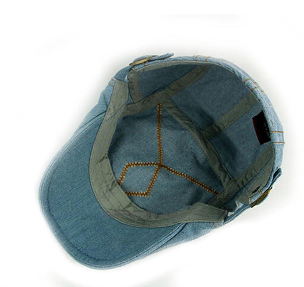 Nanxson TM B/éret//Casquette//Chapeau Plate en Jean Cow-Boy Style De Loisir Mode pour Homme MZM0027