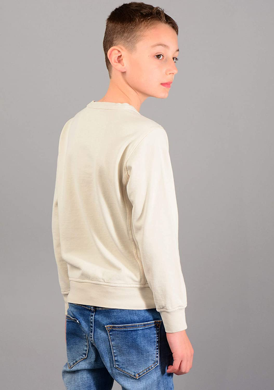 Stone Island Junior 61040 Sweatshirt in Beige