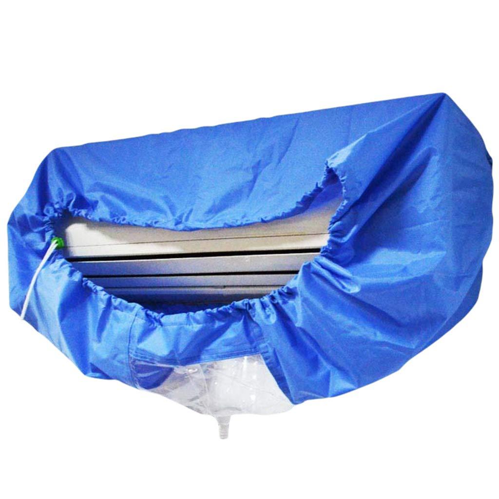 M # Azul ZOOMY Azul Bolsa de Limpieza para Aire Acondicionado montado en la Pared Limpieza de Aire Acondicionado Dividido