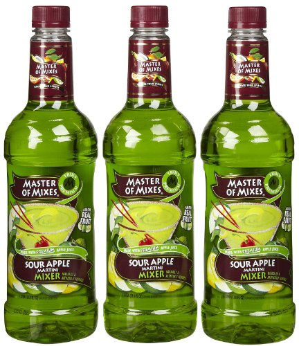 (Master of Mixes Martini Mix Sour Apple - 33.81 oz - 3 pk)