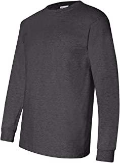 product image for Bayside Men's Classic Style Full Cut Heavyweight T-Shirt