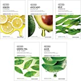The Face Shop Unisex Pore Protection Masksheet Combo (Pack of 5)