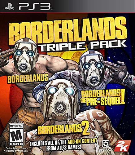 Thing need consider when find borderlands ps3 triple pack?
