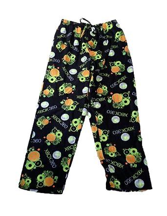 Xbox Mens Xbox 360 Microsoft Pajama Lounge Pants - Black - Large