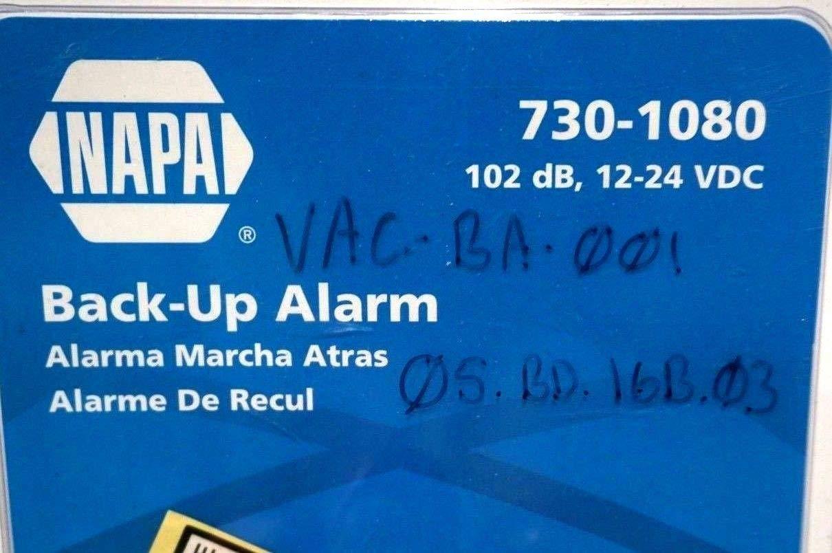 New NAPA 730-1080 Backup Alarm 7301080: Amazon.com: Industrial & Scientific