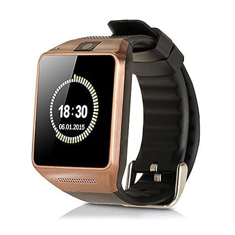 """Minidiva 1.54 """"Smart Digital reloj de pulsera y teléfono celular Soporte de tarjeta SIM"""