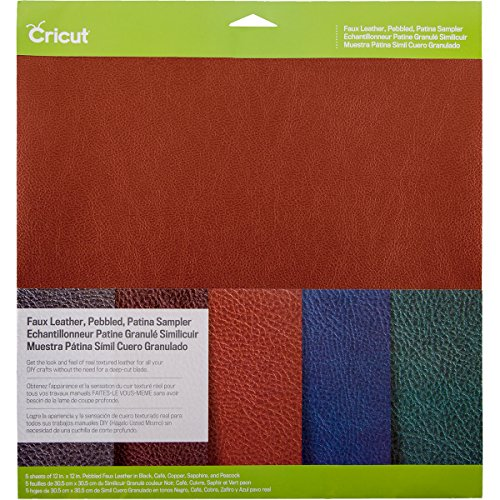 Cricut 2003573 Pebbled Leather Sampler product image