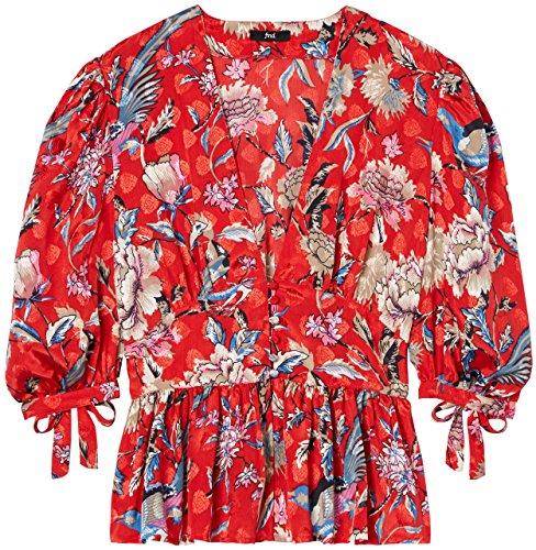 FIND Blouse Femme Mpr Multicoloured Multicolore Imprim Floral 301 7z1qxO7