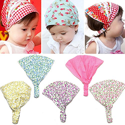 d664441d65e Girl Kid Newborn Flower Headband Hair Wear Accessories Headscarf Bandana Hat  - Buy Online in UAE.
